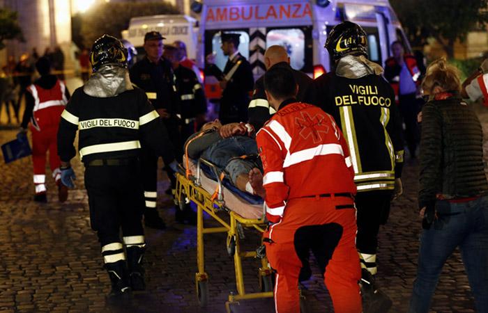 В Италии усомнились, что эскалатор в римском метро вышел из строя из-за фанатов