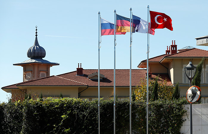 В Стамбуле стартовал саммит четырех стран по Сирии