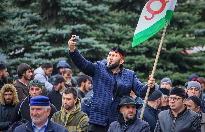 КС Ингушетии признал закон о границе с Чечней противоречащим Конституции