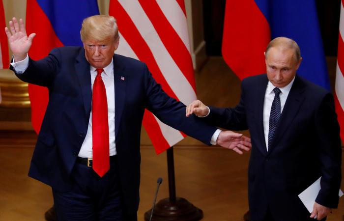 Трамп нераскрыл план конференции сПутиным
