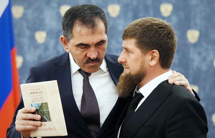 КС РФ позвал Евкурова и Кадырова на рассмотрение дела о границе субъектов