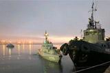 Российские пограничники задержали в Керченском проливе 24 украинских моряка