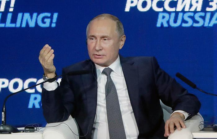 Путин назвал Керченский конфликт провокацией Порошенко накануне выборов
