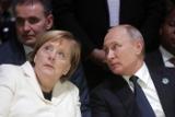 Путин нарисовал для Макрона и Меркель схему произошедшего в Керченском проливе