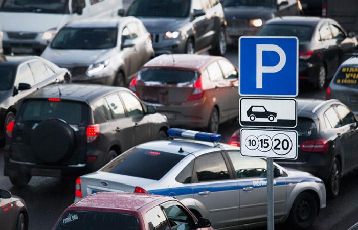 Стоимость парковки в самом центре Москвы повысится до 380 рублей с 15 декабря