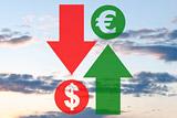 Рубль вырос к доллару на 6,75 копейки на старте торгов вторника