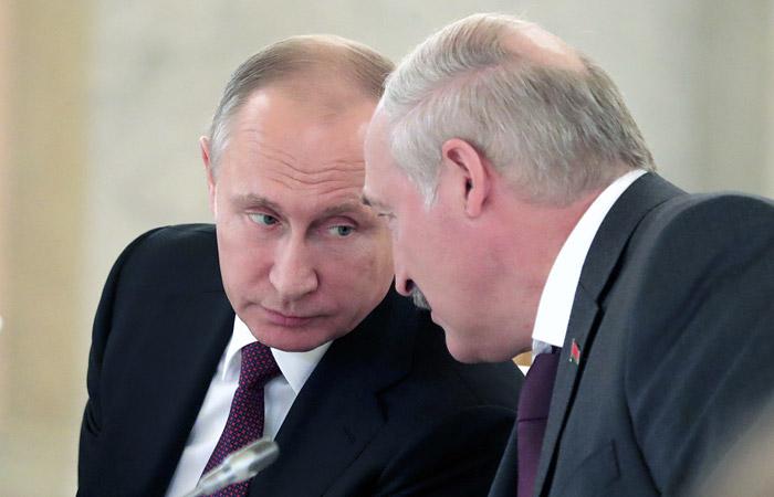 Лукашенко поспорил с Путиным о цене на газ для Белоруссии