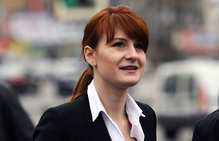 Мария Бутина признала свою вину в участии в заговоре против США