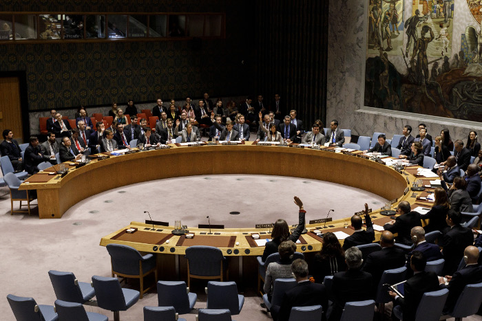 Россия и Китай в СБ ООН воздержались при голосовании по резолюции о помощи Сирии