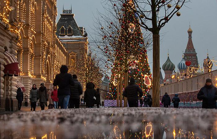 Морозная и солнечная зима останется в Москве всю неделю