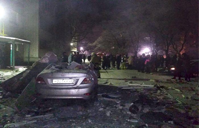 Взрыв газа произошел в жилом доме в Вологде
