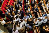 Депутаты Верховной рады подрались после принятия закона о лишении УПЦ ее названия