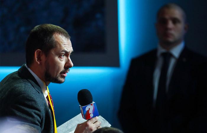 Специальный корреспондент агентства УНИАН в Москве Роман Цимбалюк