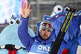 Россиянин Логинов стал вторым в гонке преследования на этапе КМ по биатлону