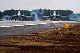 """Аэродром """"Бельбек"""" принял первые боевые самолеты после реконструкции"""