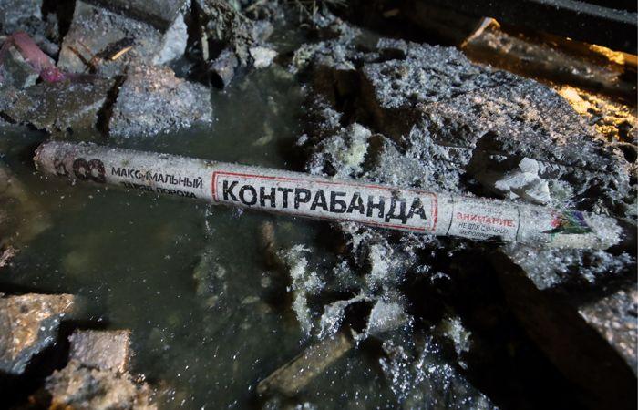 Пожар на складе пиротехники в Петербурге ликвидирован