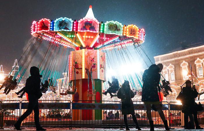 В новогоднюю ночь в Москве будет легкий мороз со слабым ветром