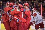 Хоккеисты сборной России победили Данию на молодежном ЧМ