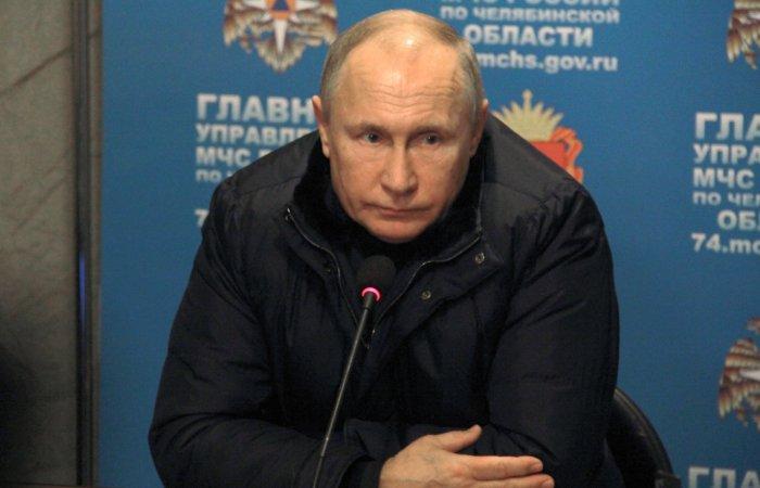 Путин не стал менять новогоднее поздравление в связи с трагедией в Магнитогорске