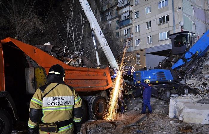 На развалинах дома в Магнитогорске не нашли следов взрывчатки