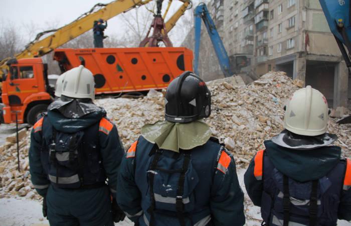 Под завалами жилого подъезда в Магнитогорске найден 39-й погибший