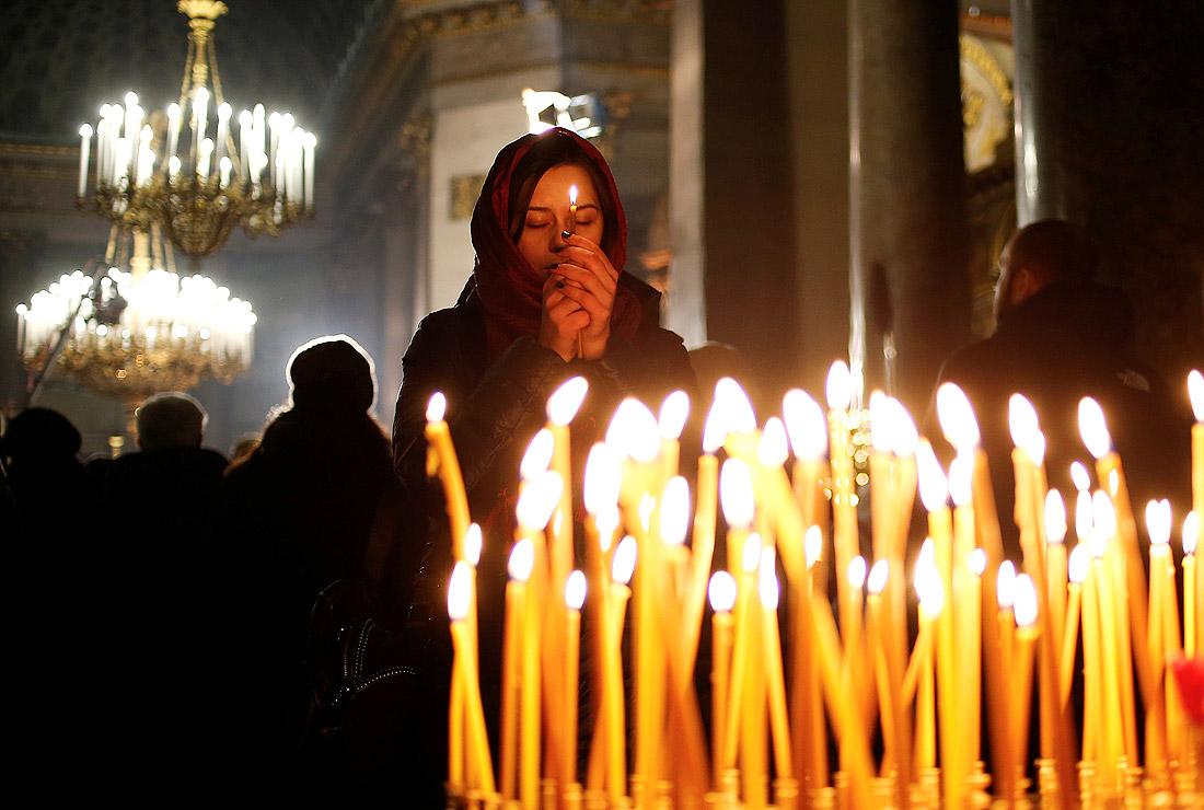 Санкт-Петербург. В Казанском соборе