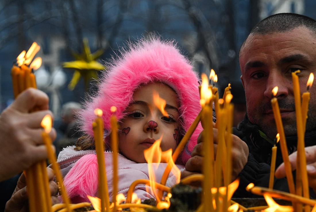 Скопье. В Центральной православной церкви Святого Климента