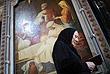 Москва. В храме Христа Спасителя