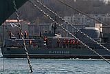 """Российский сторожевик """"Пытливый"""" взял на контроль действия корабля США в Черном море"""