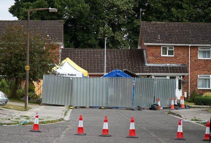 В Солсбери начат частичный демонтаж дома Скрипаля