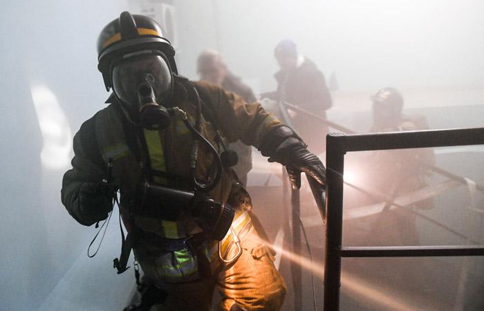 При пожаре в офисном центре в Перми пострадали 14 человек