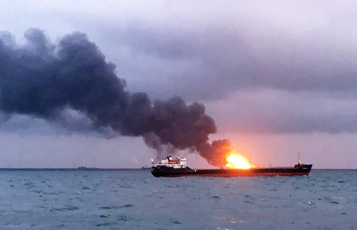 Пожар на двух судах в Черном море. Обобщение