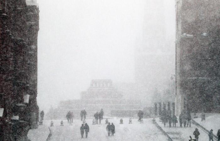 В выходные на Москву обрушится самый мощный за зиму снегопад