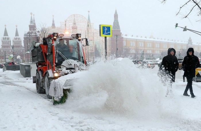 Субботний снегопад в Москве оказался самым мощным почти за 70 лет