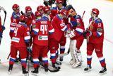 Сборная России по хоккею победила Финляндию на Шведских играх