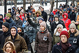 В Москве прошла акция в поддержку оппозиционерки Анастасии Шевченко