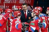 Россия победила Чехию в матче Еврохоккейтура