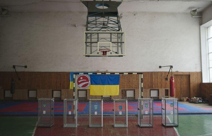 ЦИК Украины определил территории, где не будет проводиться голосование на выборах