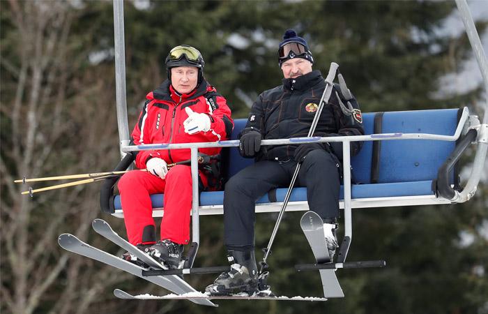Путин не исключил, что попробует покататься на сноуборде