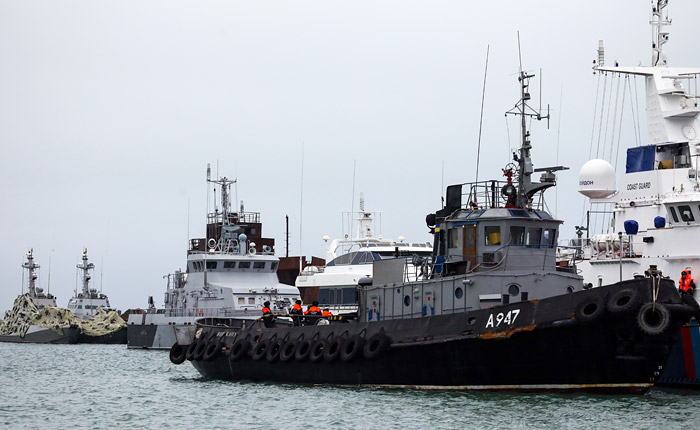 В ЕС согласовали санкции против восьми россиян в связи с инцидентом в Азовском море