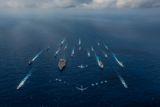 ВМС США пополнил ультрасовременный корабль-стелс