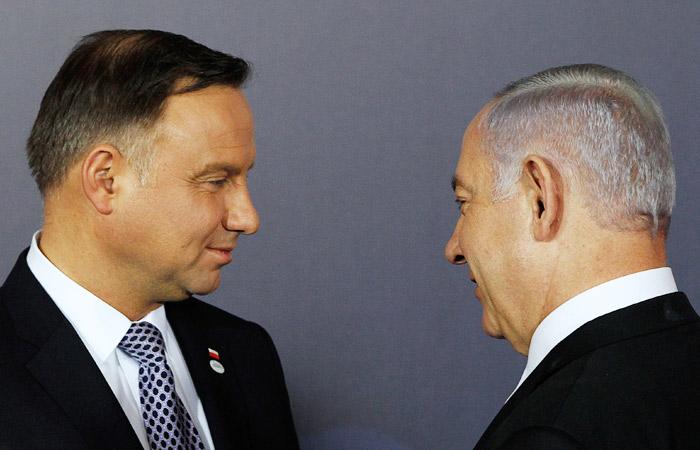 """Саммит  """"Вишеградской группы"""" отменен из-за спора Польши и Израиля"""