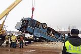 Водителя попавшего в аварию в Калужской области автобуса задержали