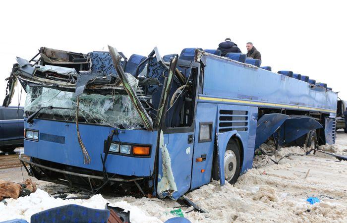 Опознаны все жертвы ДТП с автобусом в Калужской области