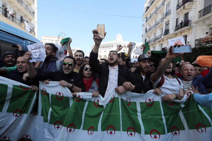 Картинки по запросу В Алжире в ходе акций протеста