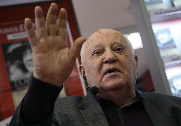 Горбачев заявил, что отказ от разоружения может привести мир к катастрофе