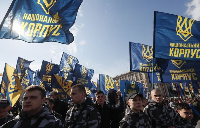 15 полицейских пострадали во время беспорядков на Украине