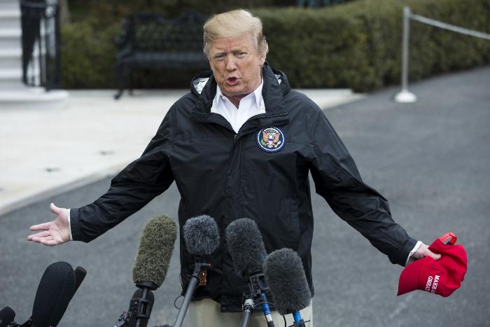 Трамп запросит у конгресса в 2020 году более $8 млрд на возведение стены на границе