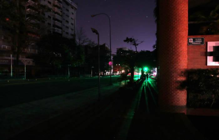 В Венесуэле снова отключилось электричество