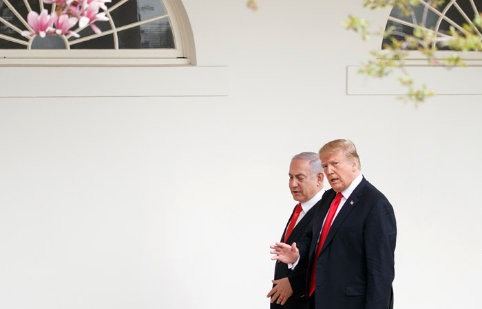 Нетаньяху представил Трампу и Путину план разрешения сирийского кризиса